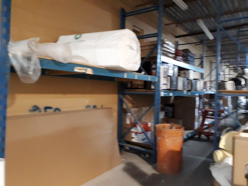 SECTIONS OF INDUSTRIAL RACKING, 42'' x 125'' X 144'' H (CONTENTS NOT INCLUDED) - Image 6 of 7
