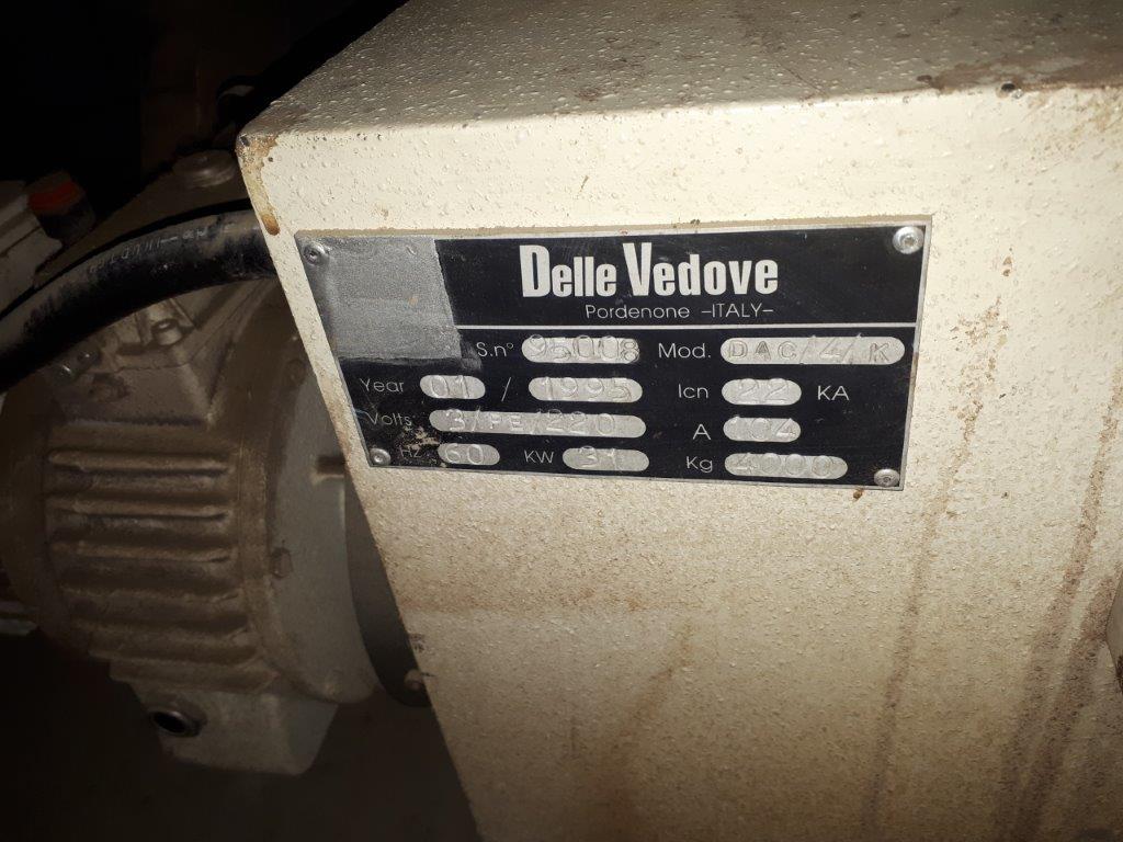 "Lot 16 - ""DELLE VEDONE"" ALUMINIUM APPLICATOR, mod: DAC141K, ns: 95008-1995"