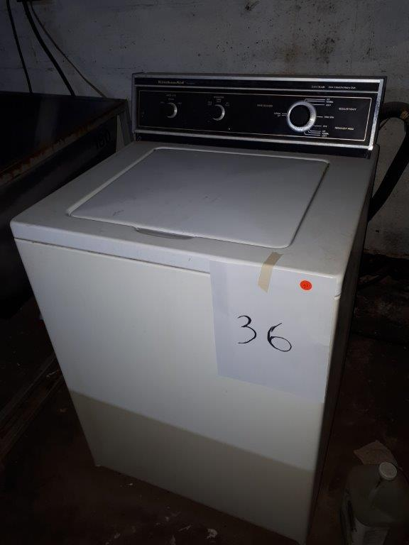 """""""KITCHEN AID"""" WASHER - Image 2 of 3"""
