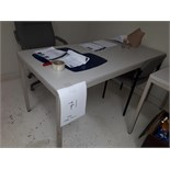 LOT: ASST. CAFETERIA TABLE & CHAIRS