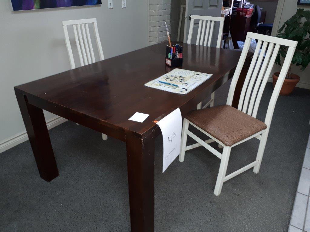 LOT: TABLE & (4) CHAIRS - Image 2 of 2