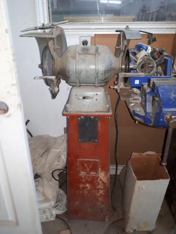Lot 34 - DOUBLE PEDESTAL GRINDER