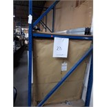 SECTIONS OF INDUSTRIAL RACKING, 42'' x 125'' X 144'' H (CONTENTS NOT INCLUDED)