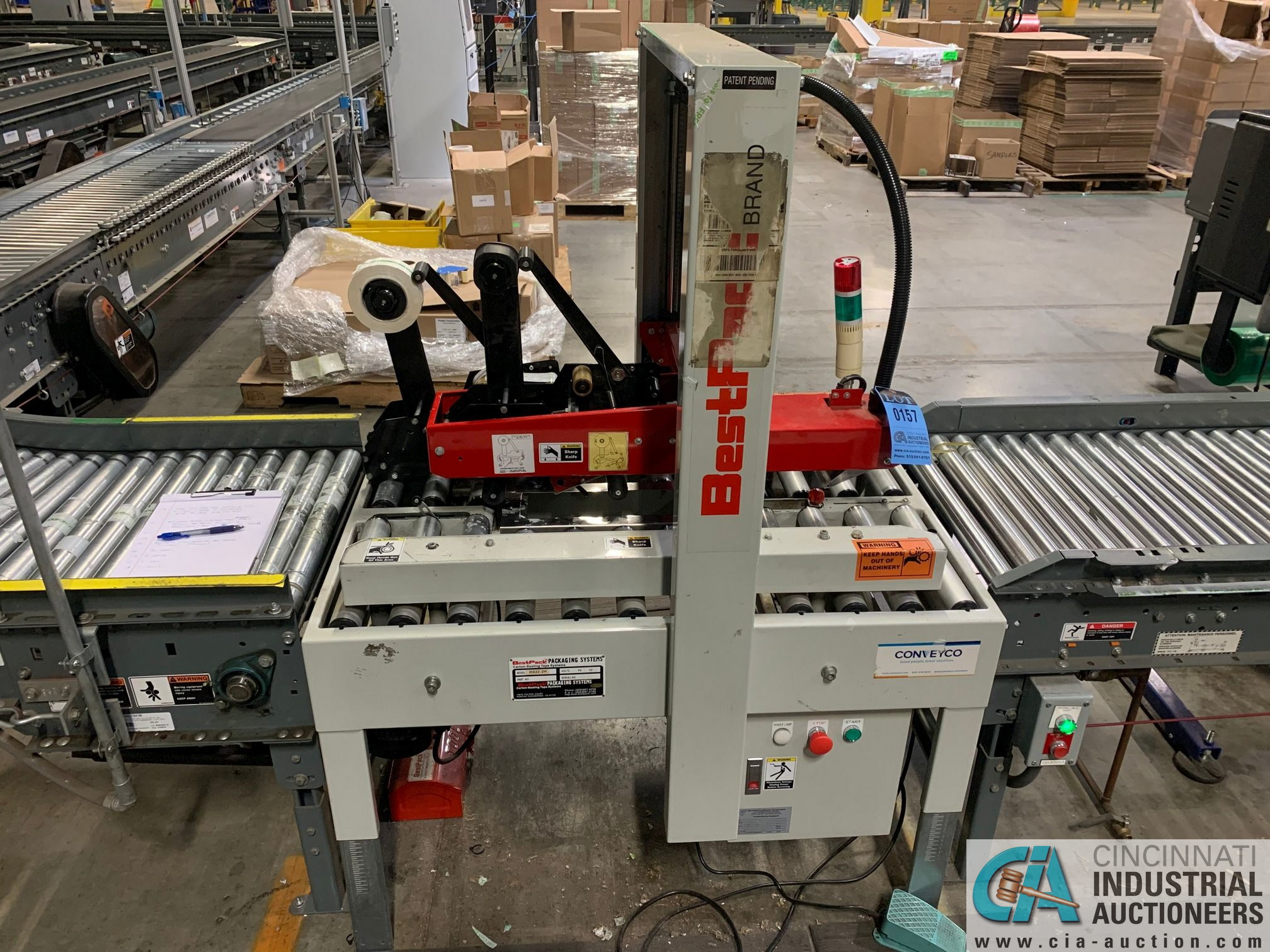 BEST PACK MODEL RS22-3H BOX TAPER; S/N 122101 (APPROX. 2013) - Image 3 of 7