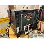 ENERSYS MODEL EH3-18-1200 ENFORCER HF BATTERY CHARGER WITH STAND **LOCATED IN MAIN CHARGE AREA**