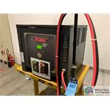 ENERSYS MODEL EH3-12-1200 ENFORCER HF BATTERY CHARGER WITH STAND **LOCATED BY START OF SALE**