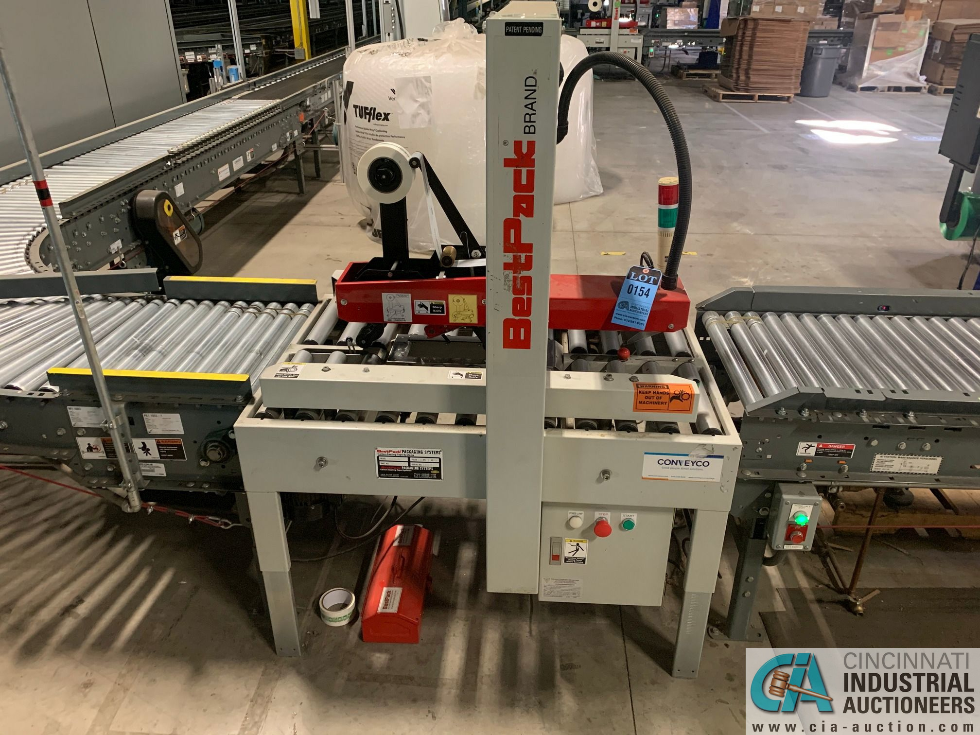 BEST PACK MODEL RS22-3H BOX TAPER; S/N 122041 (APPROX. 2013) - Image 2 of 7