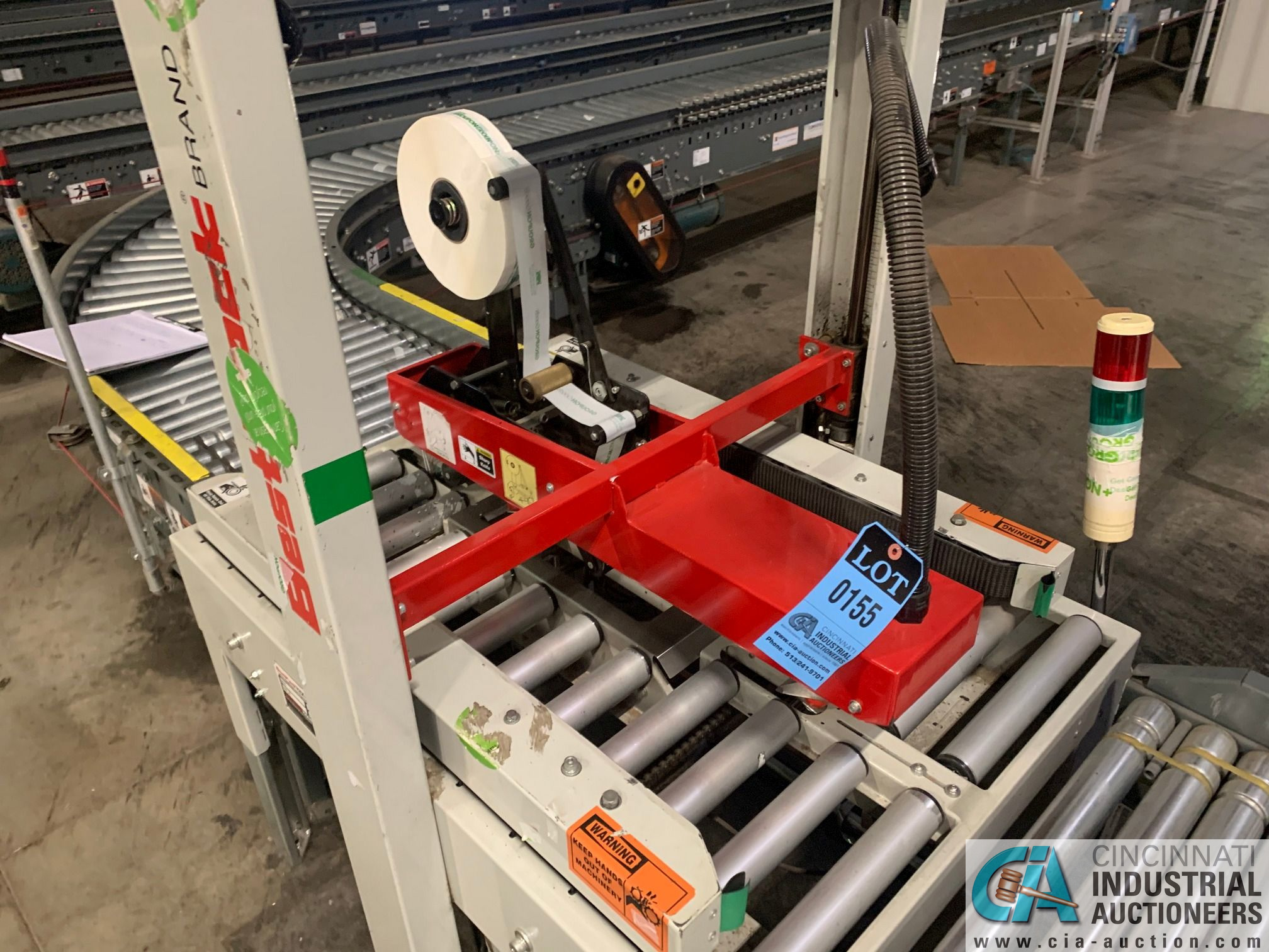 BEST PACK MODEL RS22-3H BOX TAPER; S/N 132005 (APPROX. 2013) - Image 4 of 5