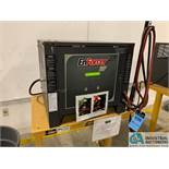ENERSYS MODEL EH3-18-1200 ENFORCER HF BATTERY CHARGER WITH STAND **LOCATED BY START OF SALE**