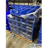 QUANTUM MODEL QUS951 HULK PLASTIC STACKING BINS - (1) SKID