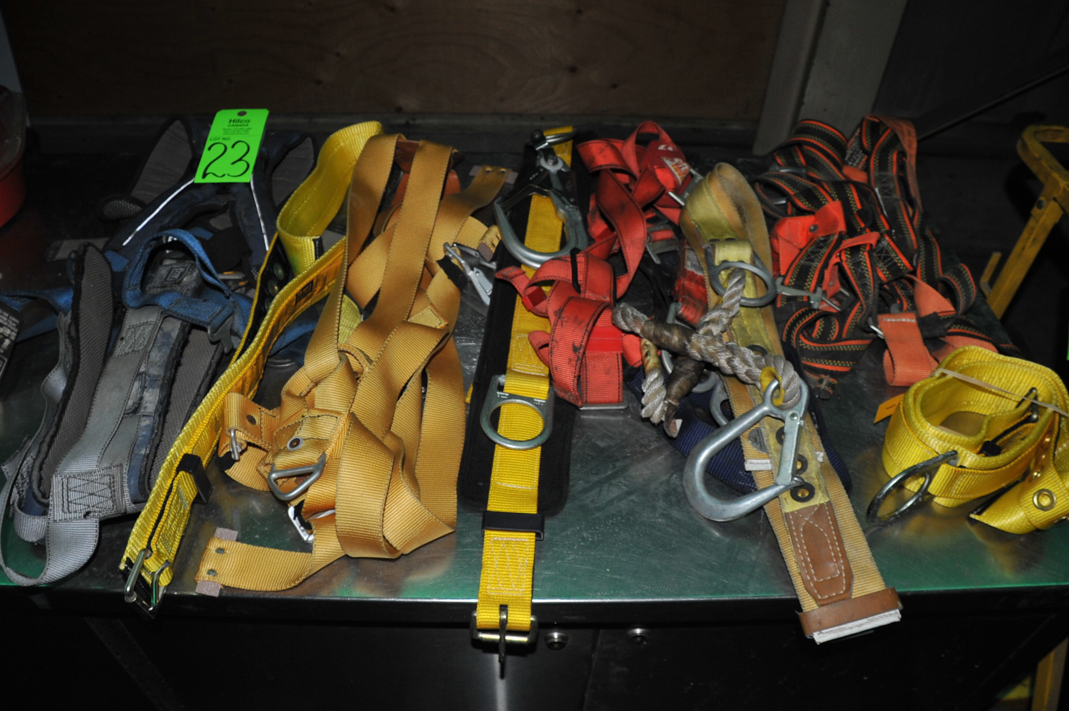 Lot 23 - Lot of Asst. Sala, Protecta Safety Harnesses