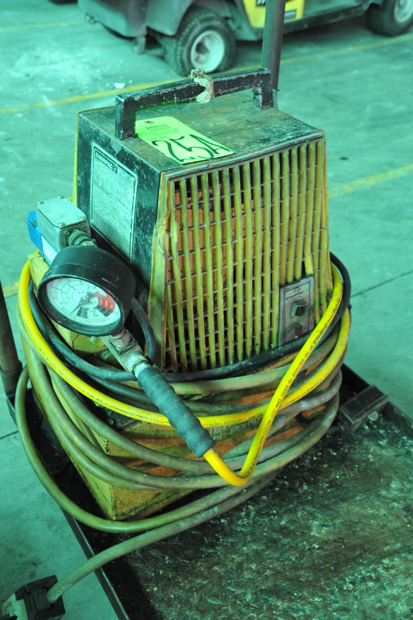 Lot 25A - Enerpac Model PER 3045 1.5 Hp, 115V, Hydraulic Power Pack