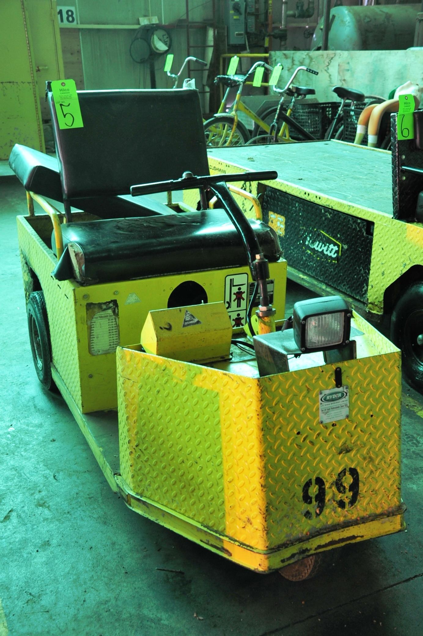 Lot 5 - Cushman Model Minute Miser Electric Powered Cart