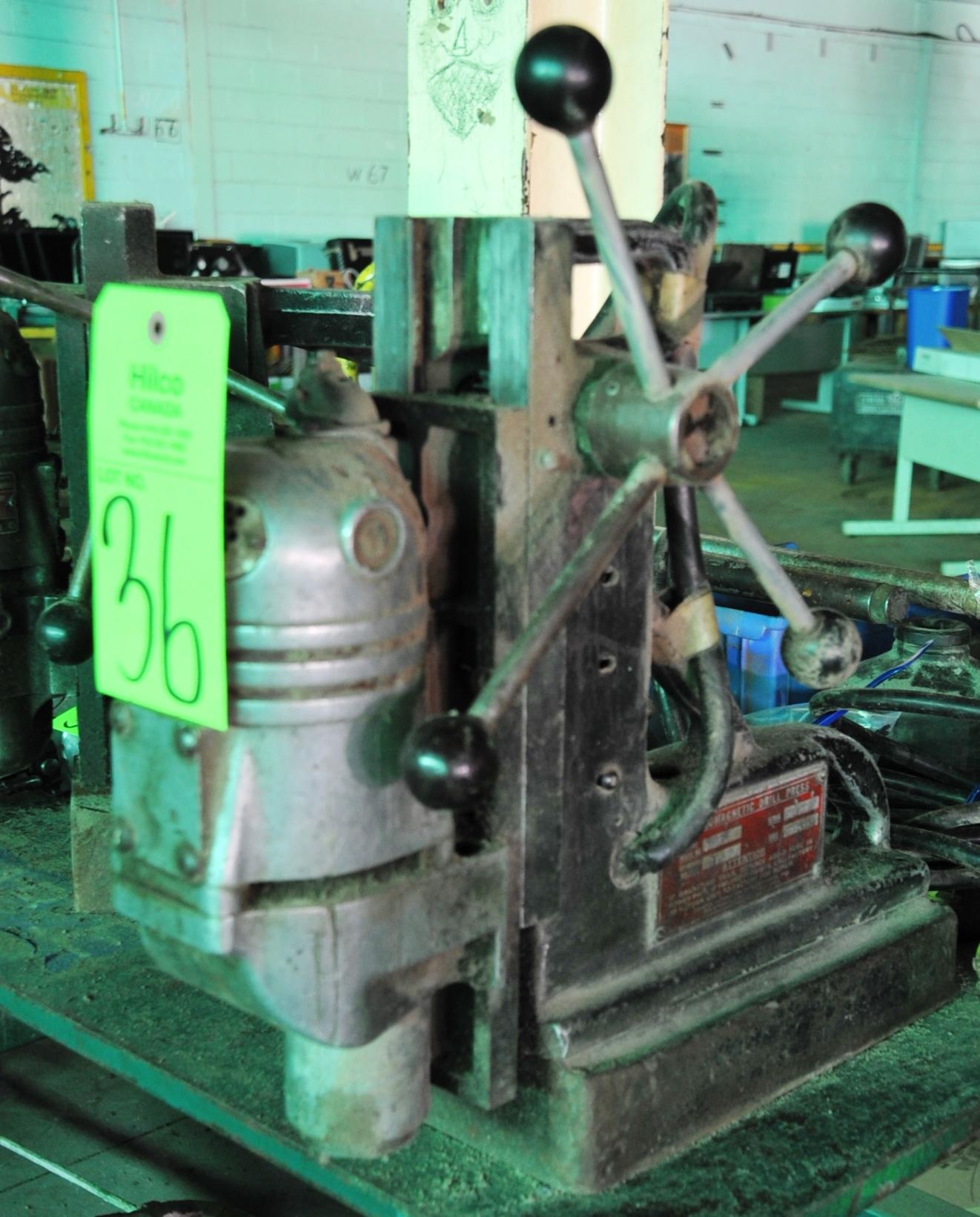Lot 36 - Gamag Electro Magnetic 115V Drill Press