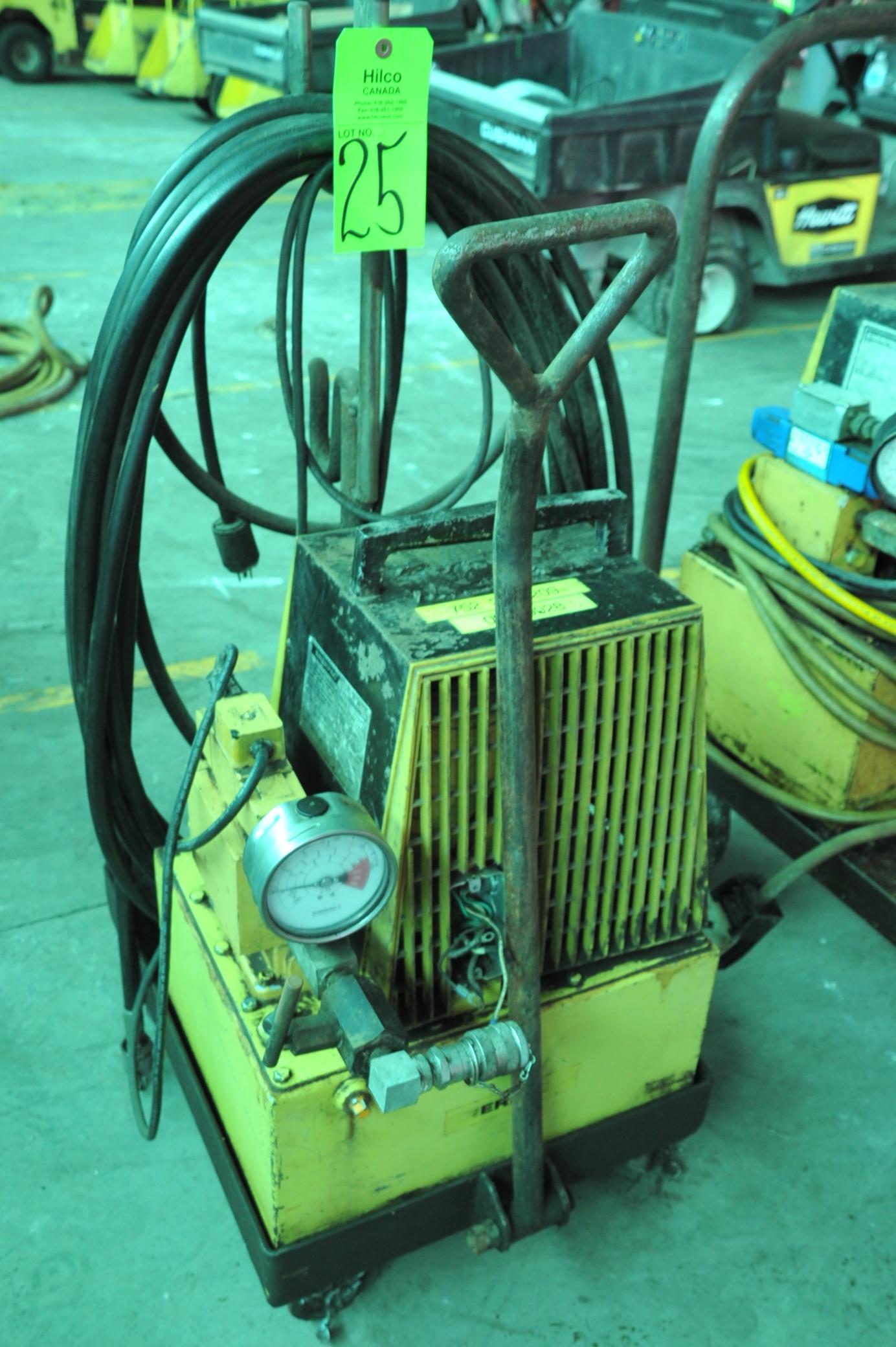 Lot 25 - Enerpac Model PER 2045 1 Hp, 115V, Hydraulic Power Pack