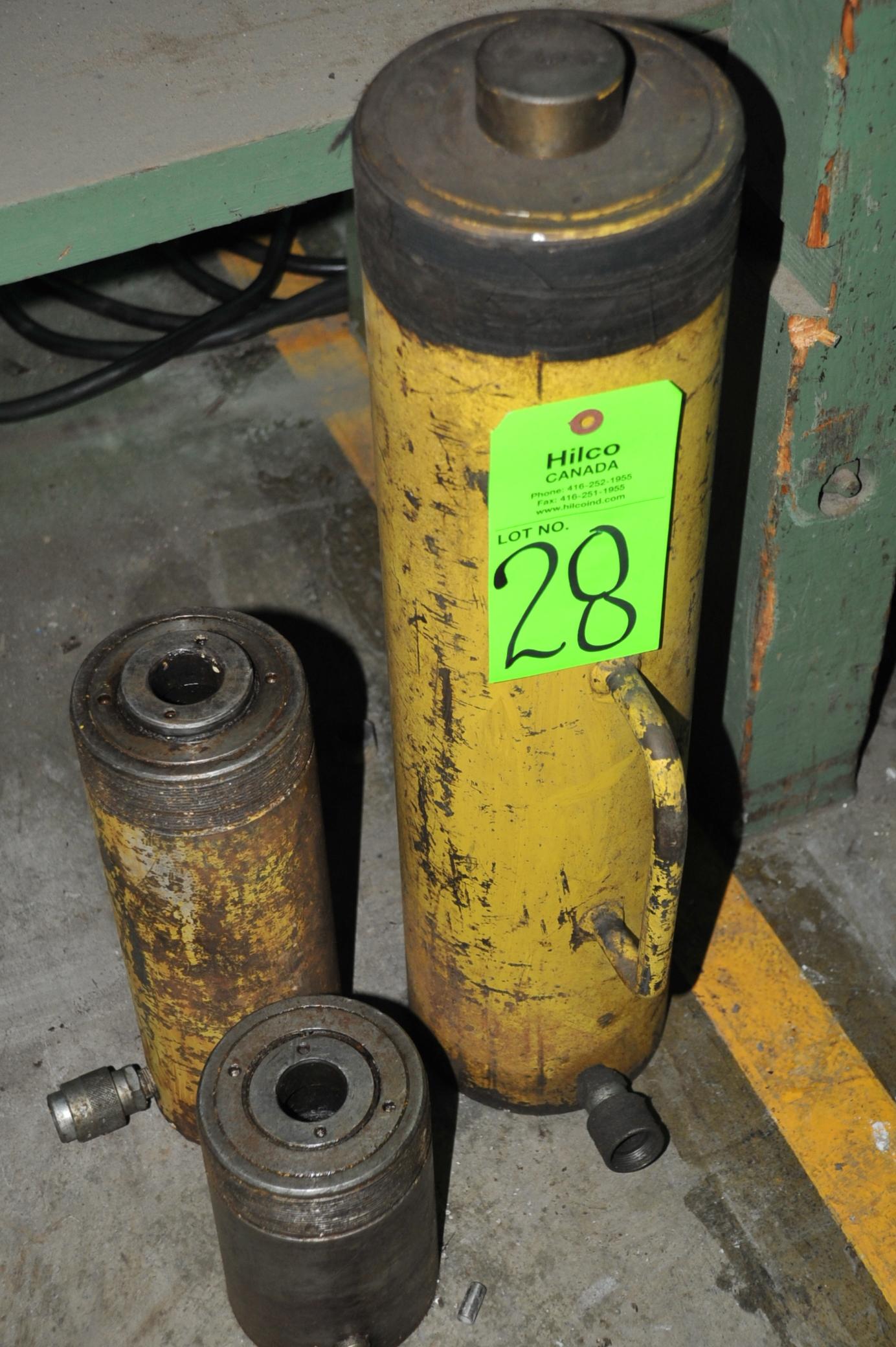 Lot 28 - Asst. Enerpac Hydraulic Rams