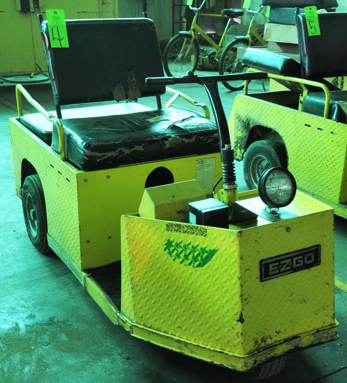 Lot 4 - Cushman Model Minute Miser E Electric Powered Cart