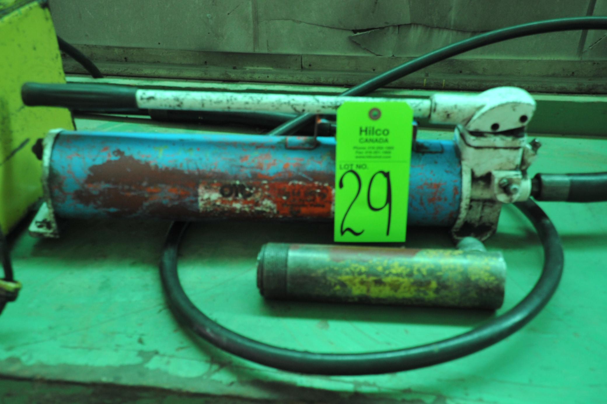 Lot 29 - OTC Hydraulic Pump