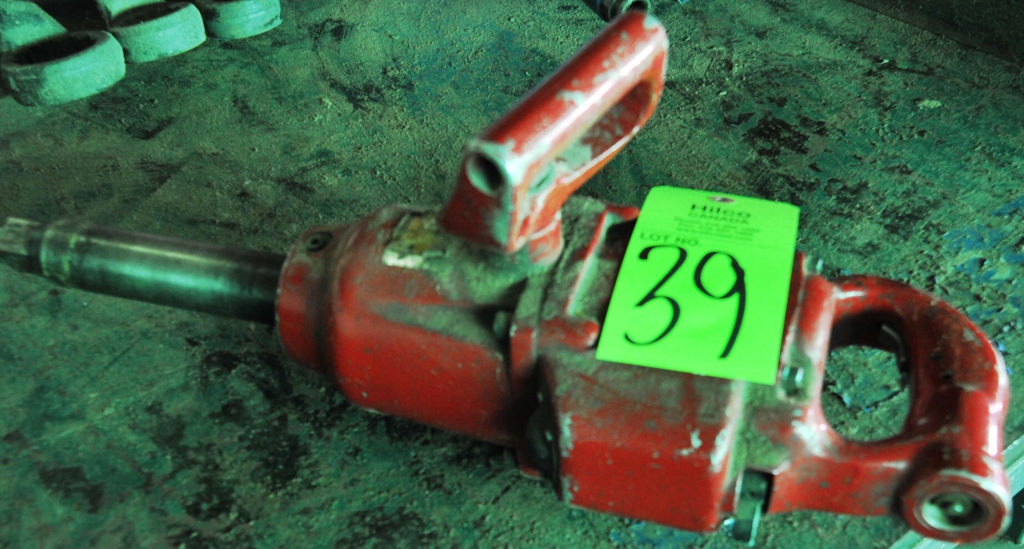 "Lot 39 - CP Model 982 1"" Pneumatic Impact Gun"