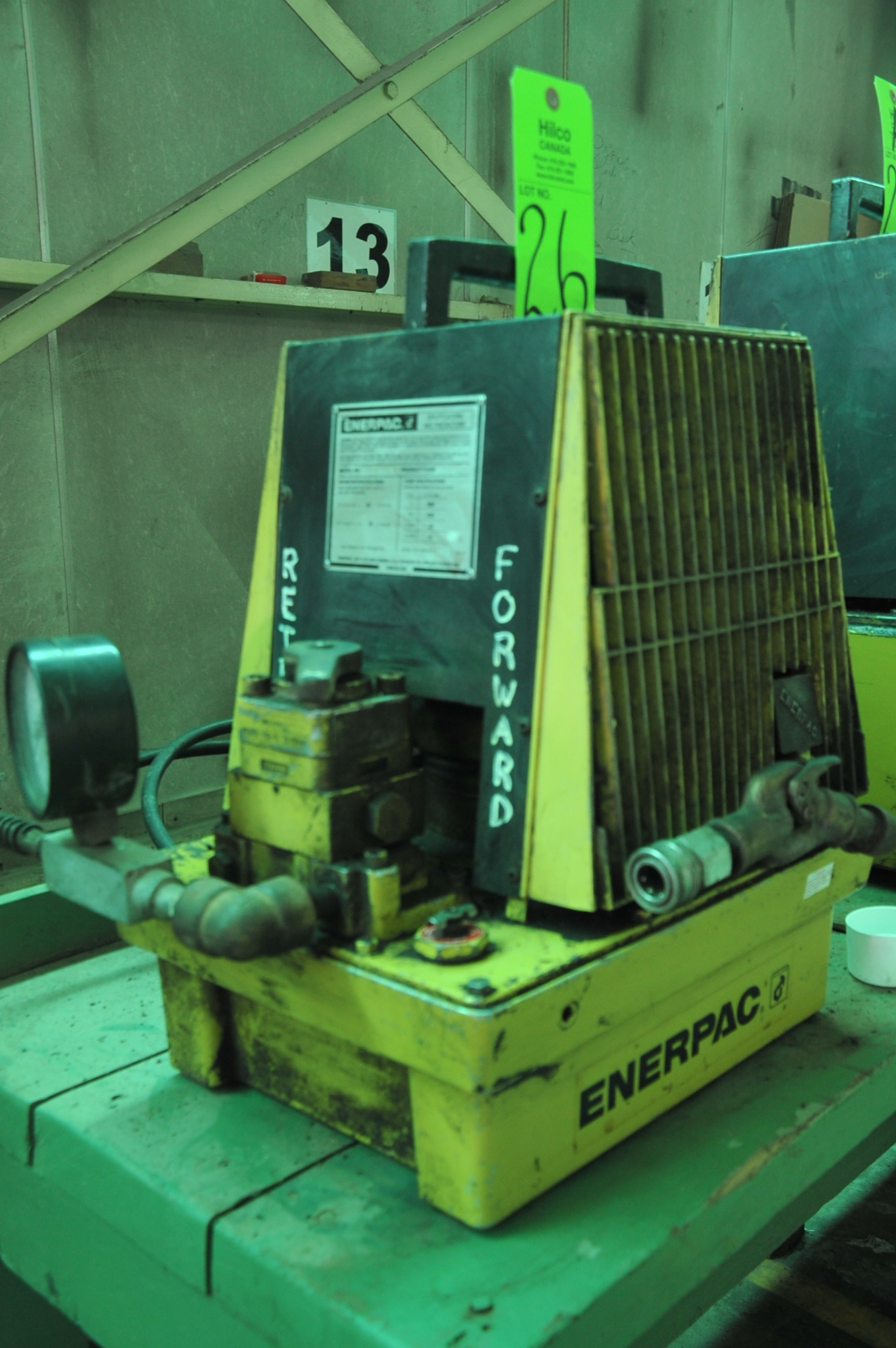 Lot 26 - Enerpac Model PAM-3042L Hydraulic Power Pack