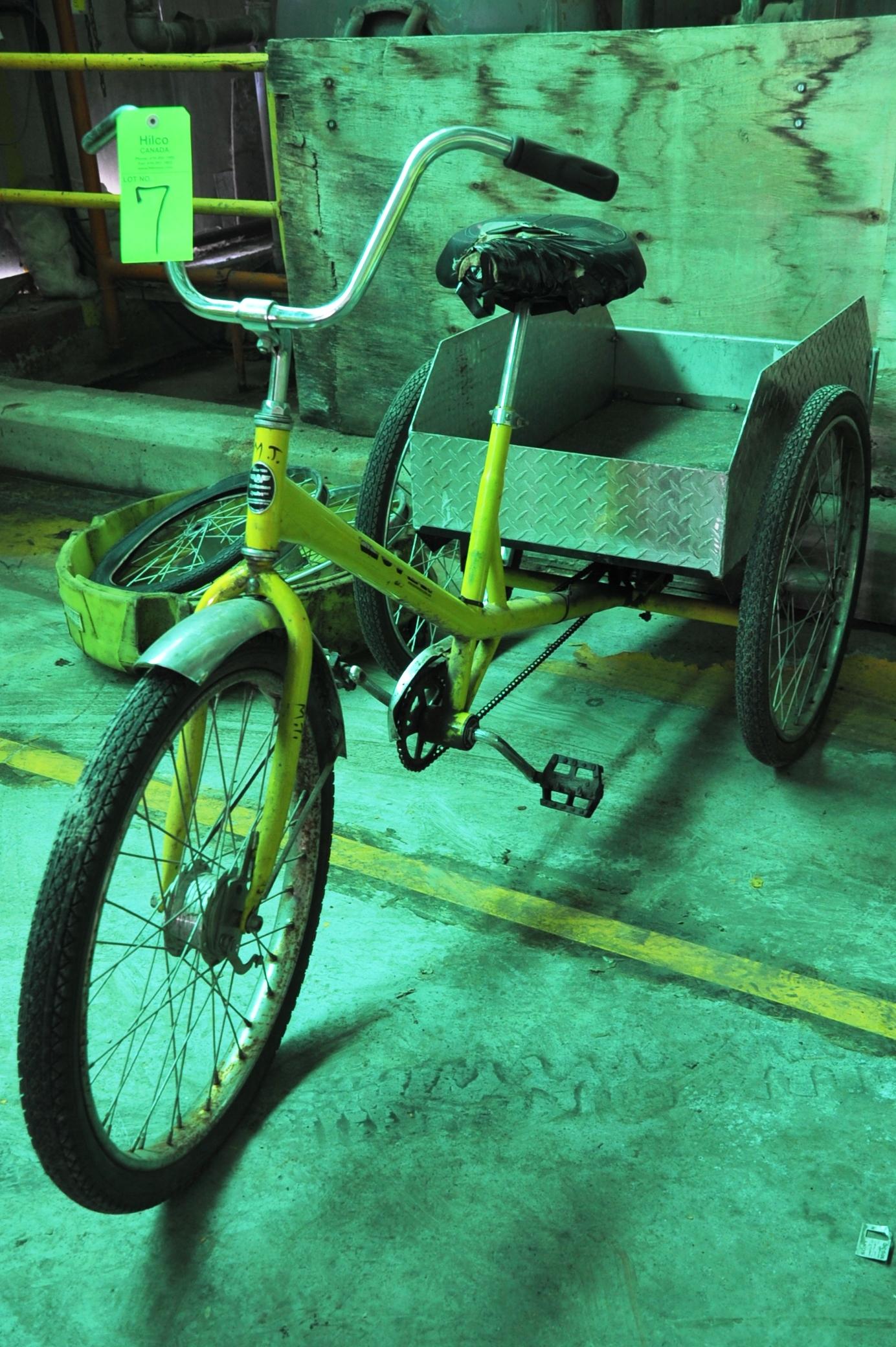 Lot 7 - Workmans Cycle Trike Bicycle