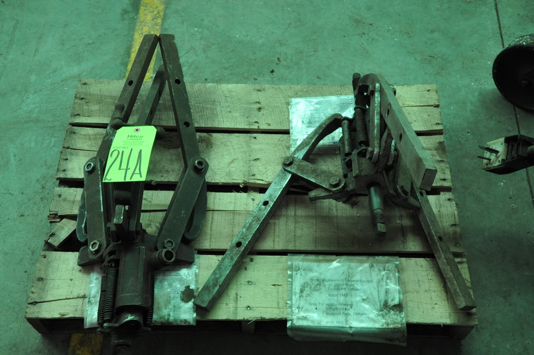 Lot 24A - Hydraulic Powered Pullers