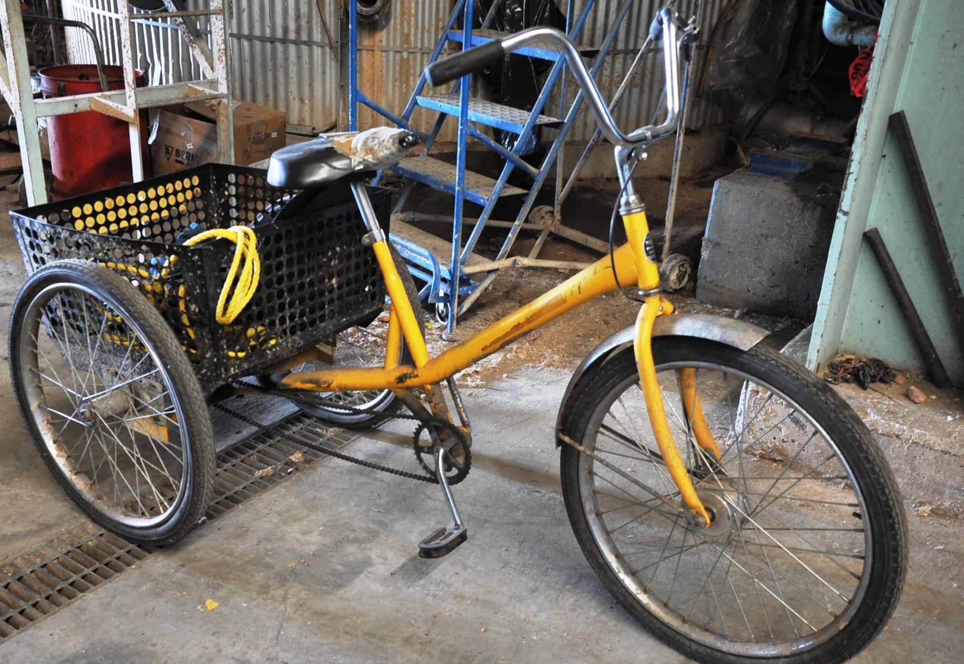 Lot 9 - Workmans Cycle Trike Bicycle
