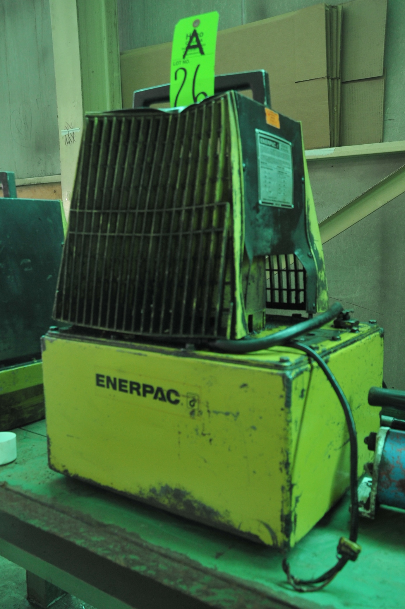 Lot 26A - Enerpac Model PER 3035 Electric/Hydraulic Power Pack