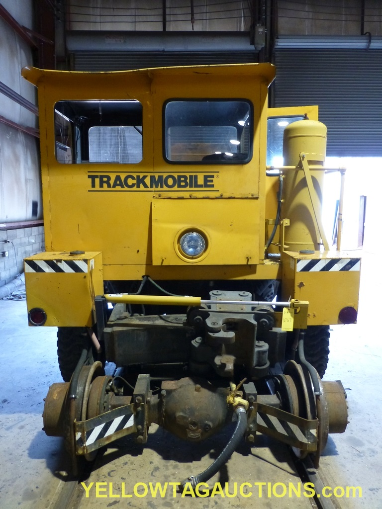 Track Mobile Rail Car Mover | Model No. 7TM; Bad Tie Rod - Image 3 of 42