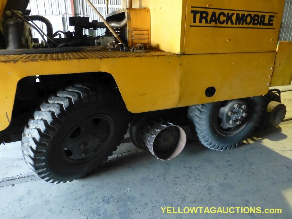 Track Mobile Rail Car Mover | Model No. 7TM; Bad Tie Rod - Image 36 of 42