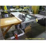 "Powermatic Table Saw | Model No. 70; Machine Size: 12"""