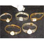 Collection of ladies wristwatches to include 3x Se