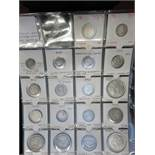 18 coins from around the world