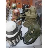 6 Model Daleks