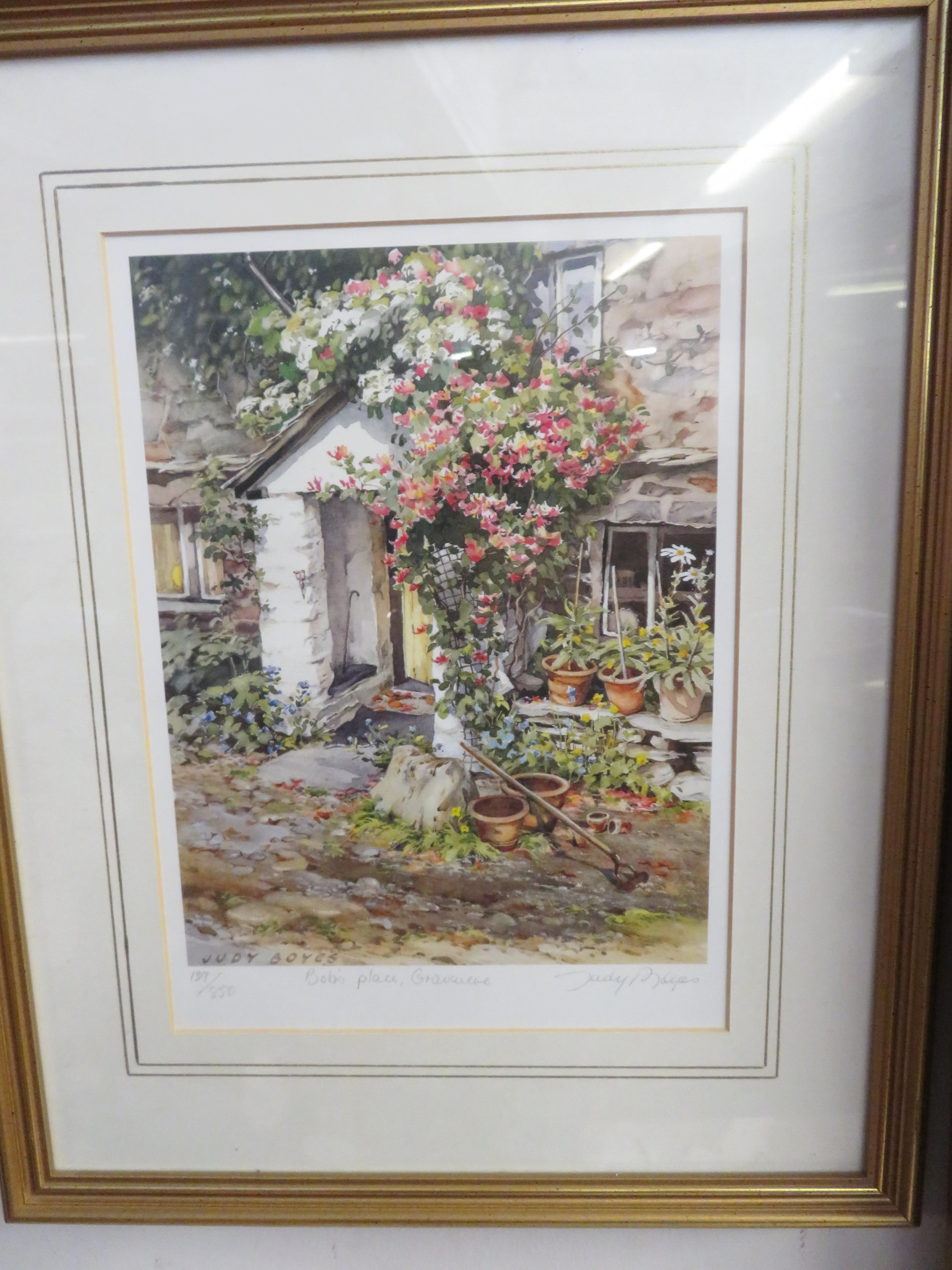 Lot 29 - Limited edition signed print by Judy Boyes ,Titled