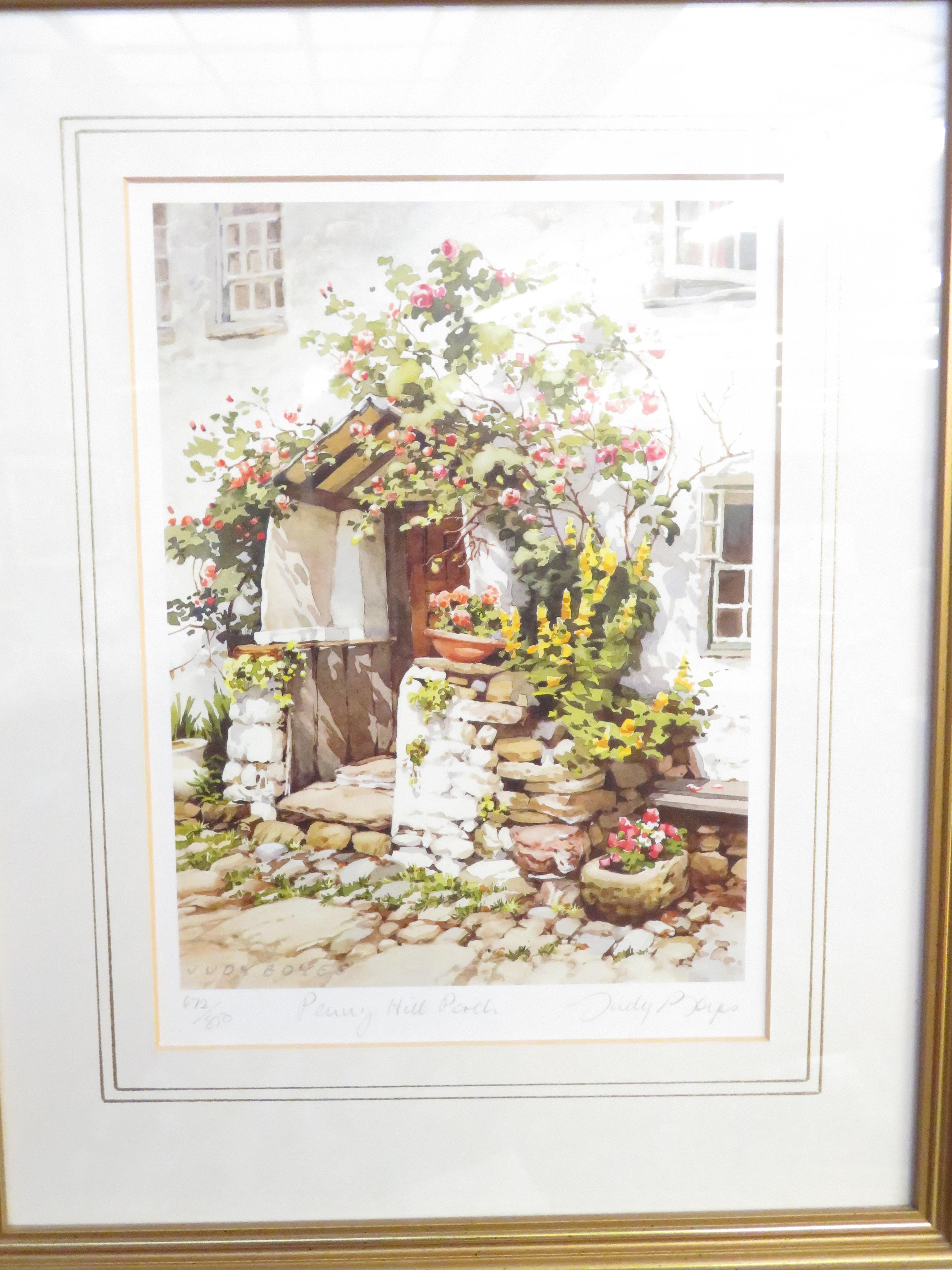 Lot 32 - Limited edition signed print by Judy Boyes, Titled