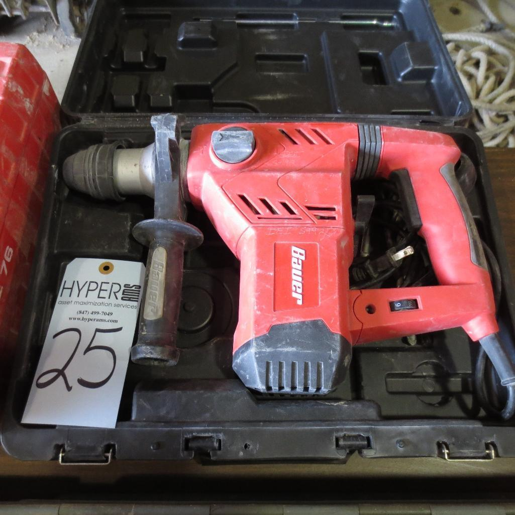 Lot 25 - Bauer Hammer Drill