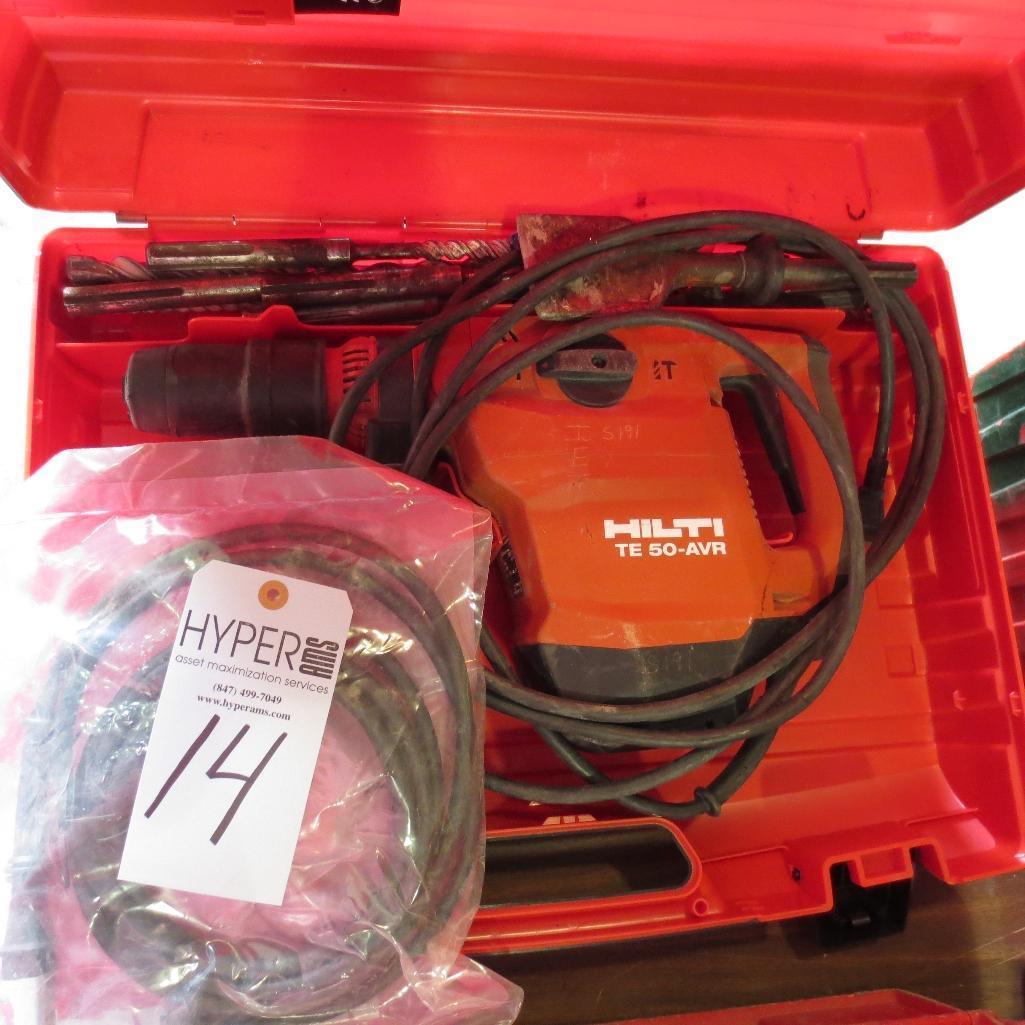 Lot 14 - Hilti TE50-AVR Hammer Drill