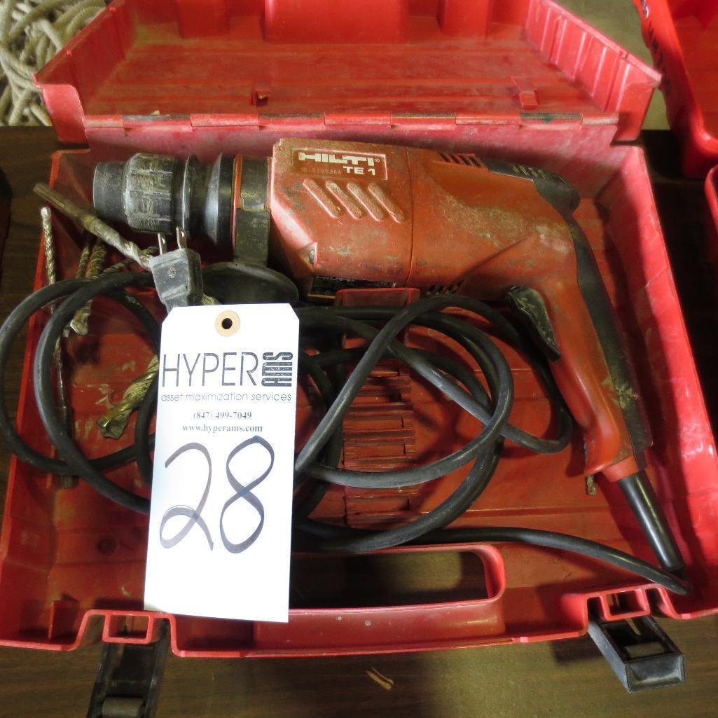Lot 28 - Hilti TE1 Hammer Drill