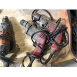 {LOT} (2) Assorted Milwaukee Corded Drills