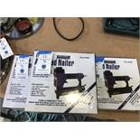 {LOT} (3) Central Pneumatic #46309 18 Gauge Air Nailers