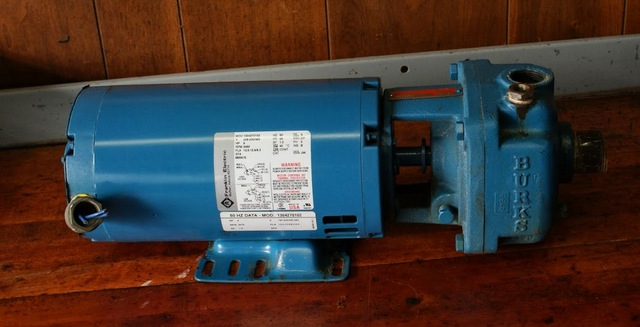 Located In Chicago Il Franklin Electric Motor 5 Hp