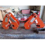 Two 3 Ton Beam Clamps