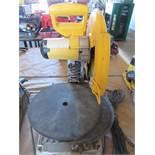 "14"" DeWalt Metal Cut-Off Saw Model D28715 S/N 069579"