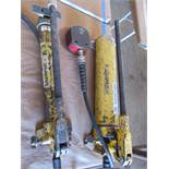 Two Enerpac Pnuematic Pumps