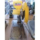 "14"" DeWalt Metal Cut-Off Saw Model D28715 S/N 092073"