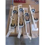 Four FallTech Style 7530 Ratchet Type Beam Anchors