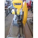 "14"" DeWalt Metal Cut-Off Saw Model D28715 S/N 140052"