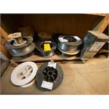 Flux Cored Wire, Assorted Size and Material Bin #7