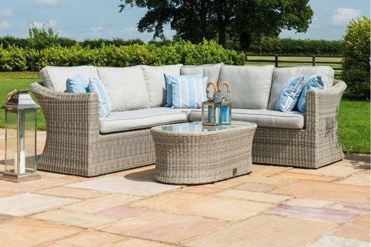 Rattan Oxford Garden Small Corner Group Set *BRAND NEW*